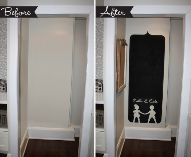The Kitchen Hub Diy Chalkboard Wall Themotherboards