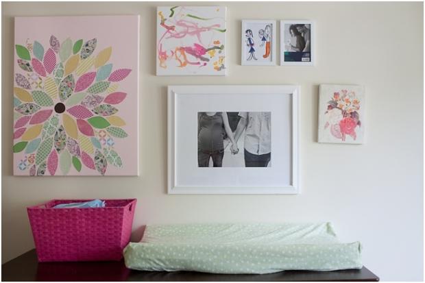 Diy Wall Decor Nursery : Diy flower wall art nursery decor themotherboards