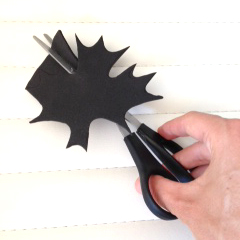 canada day foam stamp cutting