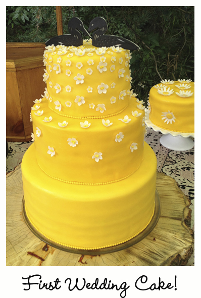 FirstWedding Cake