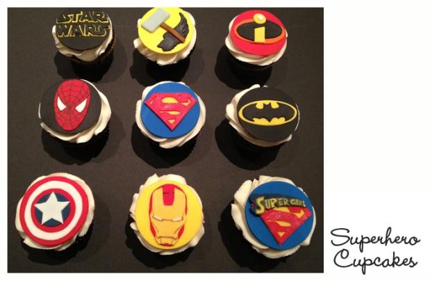 SuperheroCupcakes