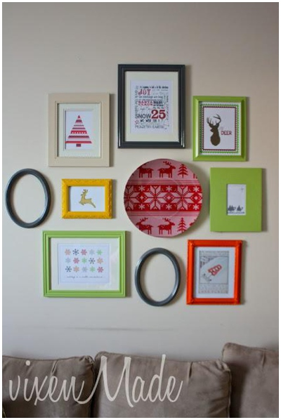 Christmas Wall Gallery Ideas_0002