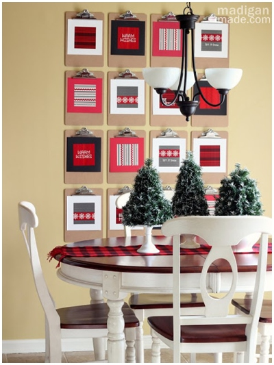 Christmas Wall Gallery Ideas_0005