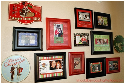 Christmas Wall Gallery Ideas_0006