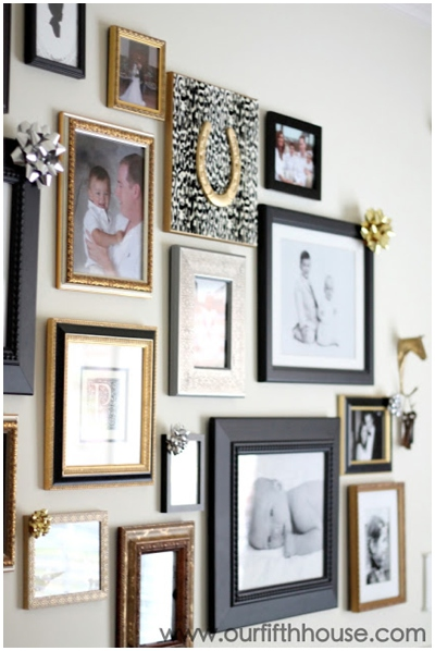Christmas Wall Gallery Ideas_0007