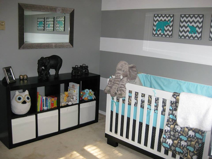 easton s elephant nursery baby boy nursery themotherboards