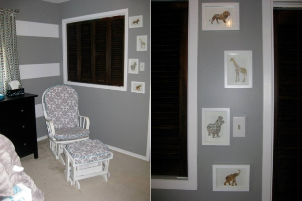 Grey & White Elephant Nursery_0003