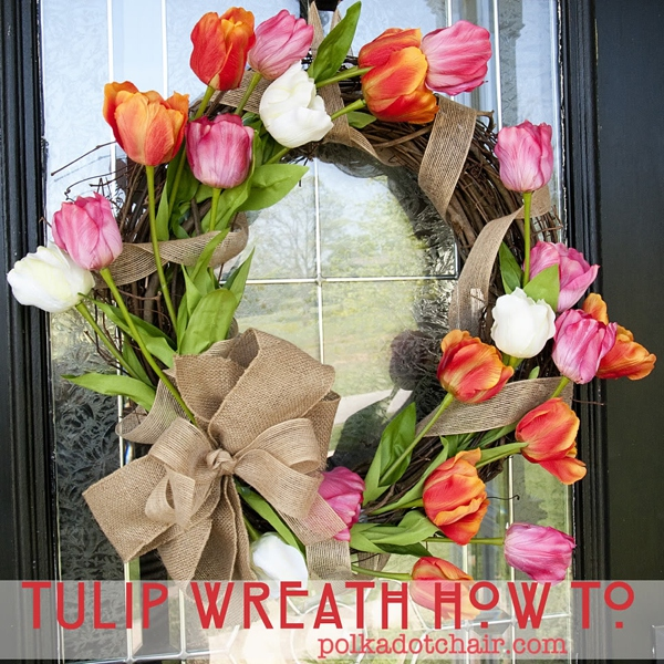DIY Spring Wreath | www.themotherboards.ca
