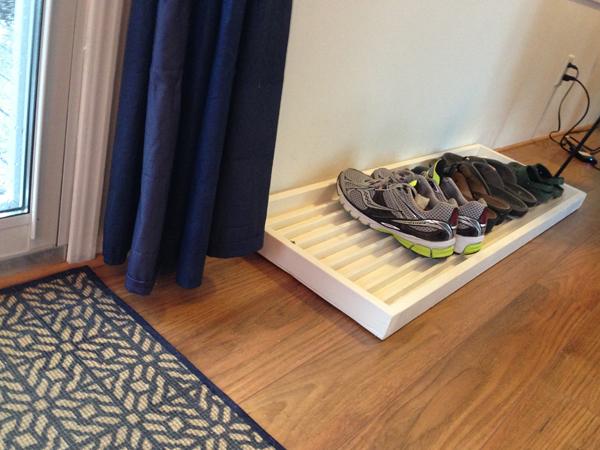 Diy White Custom Shoe Tray Themotherboards