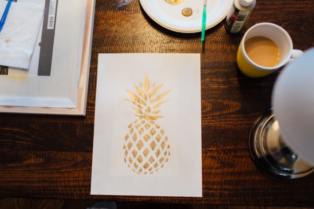 DIY Pineapple Art | The Motherboards-6