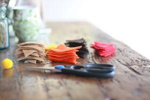 DIY: Thanksgiving bunting