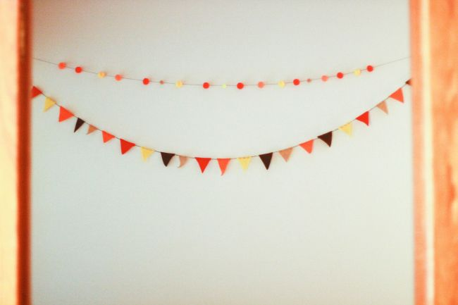Thanksgiving bunting