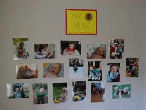 My First Year Wall