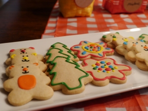 Teddy Bears in the Woods Cookies