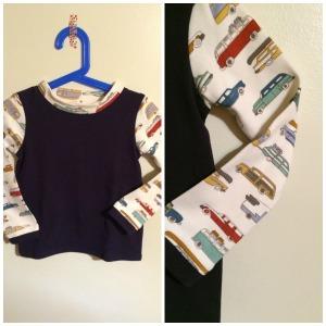 Car Shirt Collage