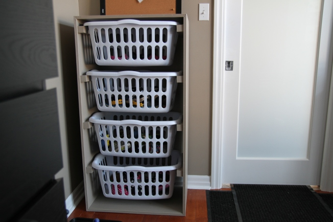 Mudroom Shoe Organizer