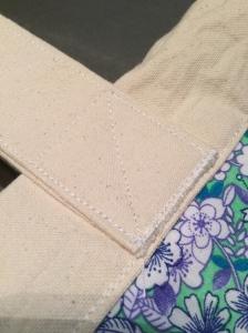 sewn straps