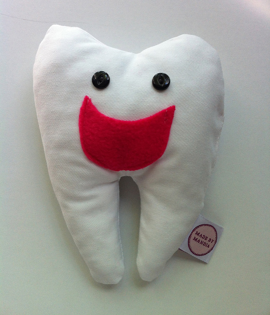 tooth fairly pillow